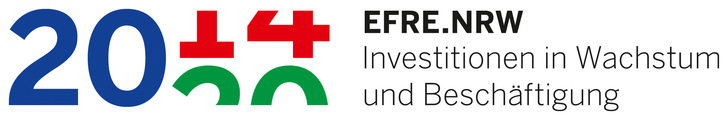 Logo of the programme EFRE.NRW 2014-2020